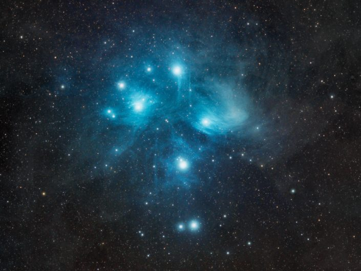 M45 - Pleiades star cluster